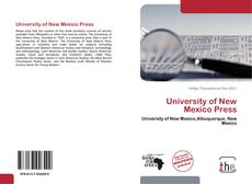 Bookcover of University of New Mexico Press