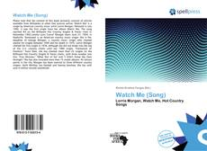 Bookcover of Watch Me (Song)