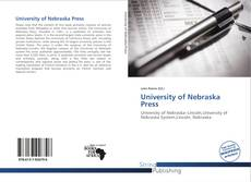 Portada del libro de University of Nebraska Press
