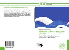 Capa do livro de Pembina (Alberta Electoral District)