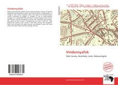 Portada del libro de Vindornyafok