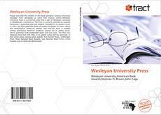 Portada del libro de Wesleyan University Press