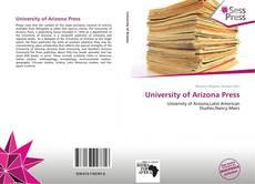 Capa do livro de University of Arizona Press