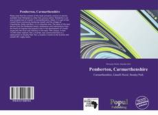 Capa do livro de Pemberton, Carmarthenshire