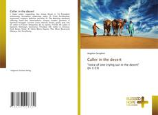 Capa do livro de Caller in the desert