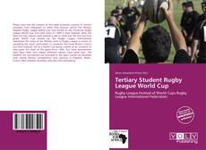 Обложка Tertiary Student Rugby League World Cup