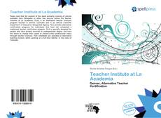 Portada del libro de Teacher Institute at La Academia
