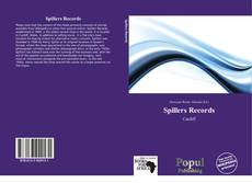 Bookcover of Spillers Records