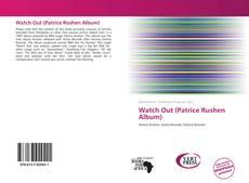 Borítókép a  Watch Out (Patrice Rushen Album) - hoz