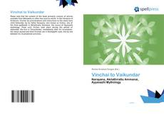 Bookcover of Vinchai to Vaikundar