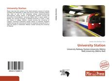 Bookcover of University Station