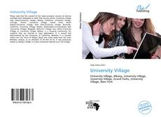 Buchcover von University Village
