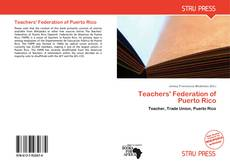 Bookcover of Teachers' Federation of Puerto Rico