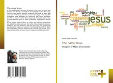 Capa do livro de The name Jesus