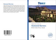 Обложка Osmond Barnes