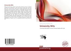 Portada del libro de University Wits