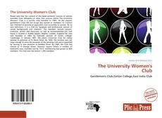 Обложка The University Women's Club