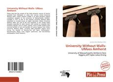 University Without Walls- UMass Amherst kitap kapağı