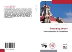Teaching Order的封面