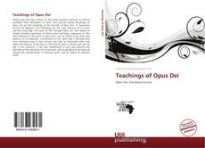 Buchcover von Teachings of Opus Dei