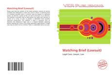 Buchcover von Watching Brief (Lawsuit)