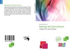 Bookcover of Rodrigo de Castro Osorio