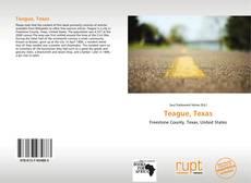 Portada del libro de Teague, Texas