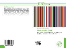 Bookcover of Watchman Peak