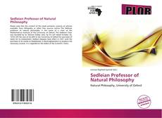 Bookcover of Sedleian Professor of Natural Philosophy