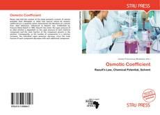 Buchcover von Osmotic Coefficient