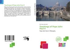 Copertina di Teachings of Pope John Paul II