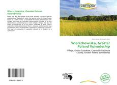 Bookcover of Wierzchowiska, Greater Poland Voivodeship
