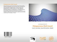 Borítókép a  Peloponnese Wall Lizard - hoz