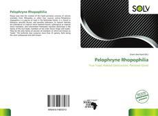 Copertina di Pelophryne Rhopophilia