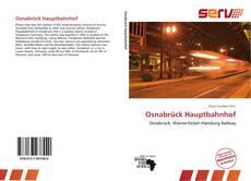 Portada del libro de Osnabrück Hauptbahnhof
