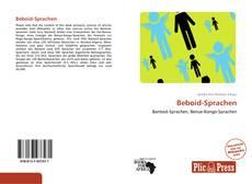 Buchcover von Beboid-Sprachen