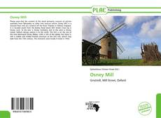 Bookcover of Osney Mill