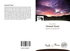 Portada del libro de Osmond Tisani