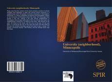 Portada del libro de University (neighborhood), Minneapolis