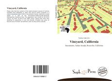 Обложка Vineyard, California