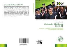 Обложка University Challenge 2011–12