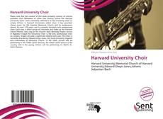 Couverture de Harvard University Choir