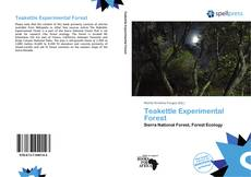 Bookcover of Teakettle Experimental Forest