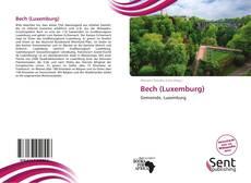Capa do livro de Bech (Luxemburg)