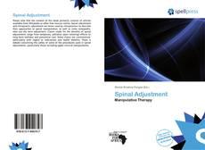 Bookcover of Spinal Adjustment