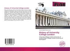 History of University College London的封面