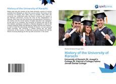 Borítókép a  History of the University of Karachi - hoz