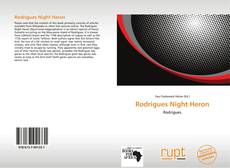 Bookcover of Rodrigues Night Heron