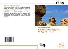 Capa do livro de Bechen (Altes Ägypten)