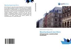 Bookcover of Becherbach bei Kirn